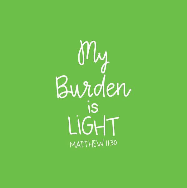 Mixed Media - My Burden by Nancy Ingersoll