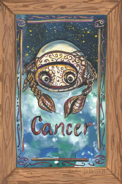 Painting - My Cancer by Sheri Jo Posselt