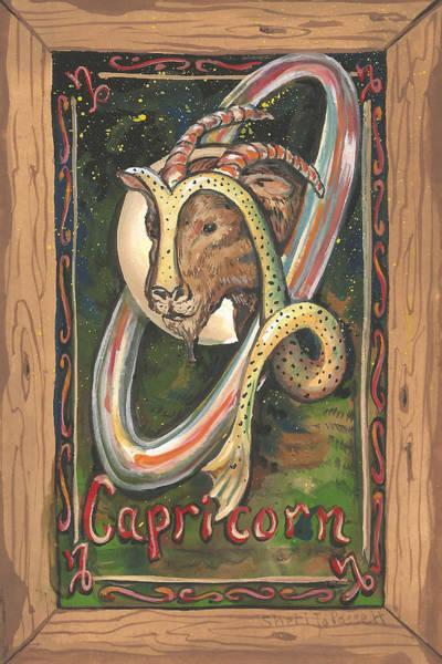 My Capricorn Art Print