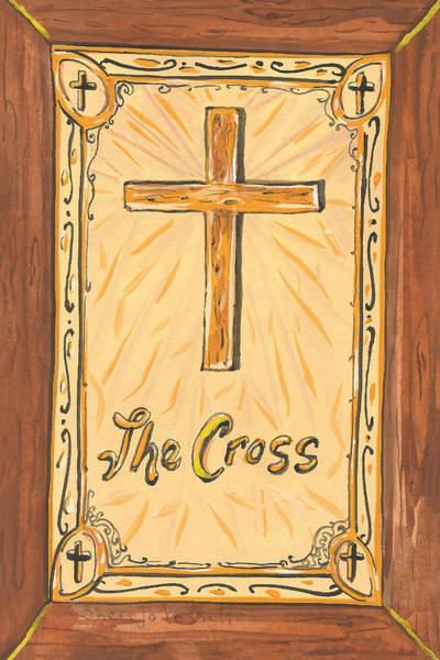 Painting - My Cross by Sheri Jo Posselt