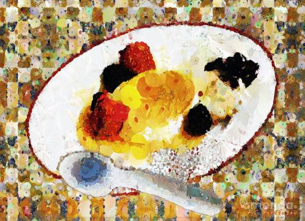 Painting - My Dinner With Gustav by RC DeWinter