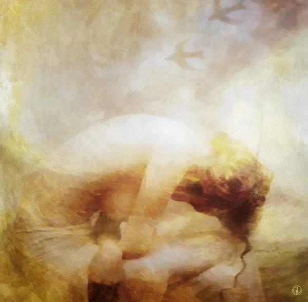 Depressed Digital Art - My Dreams Fly Away by Gun Legler