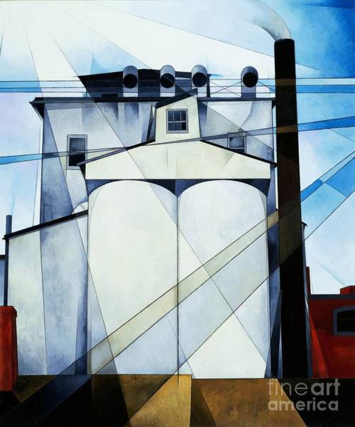 Silo Painting - My  Egypt by Pg Reproductions