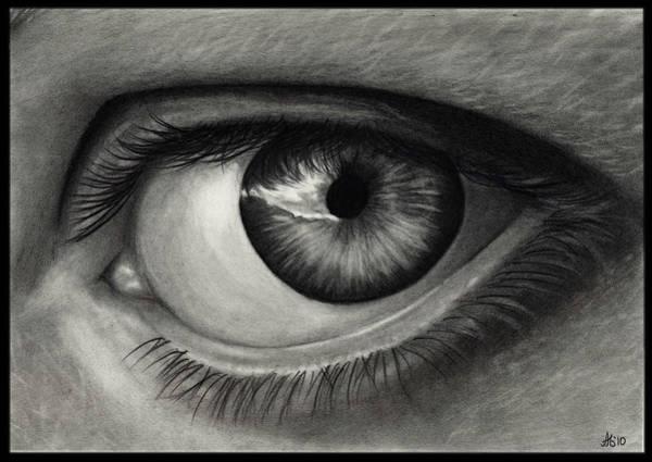 Wall Art - Drawing - My Eye by Alycia Ryan