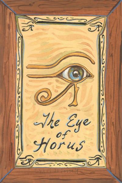 Painting - My Eye Of Horus by Sheri Jo Posselt