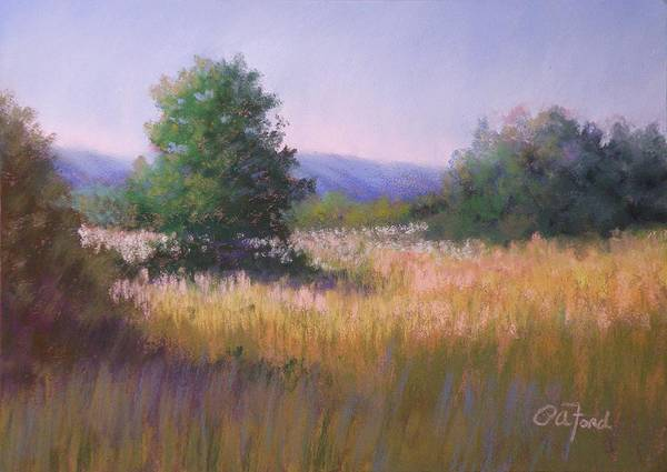 Wall Art - Painting - My Favorite Field by Paula Ann Ford