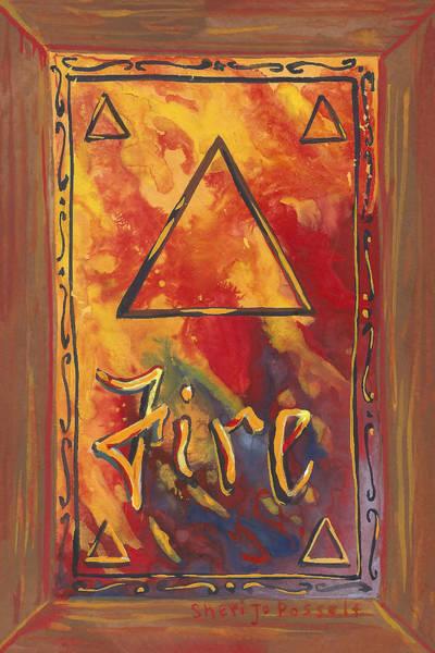Painting - My Fire by Sheri Jo Posselt