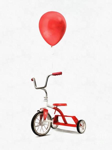 Wall Art - Digital Art - My First Bike by Edward Fielding