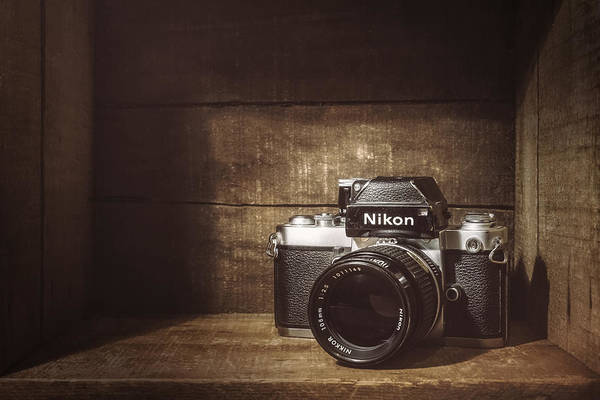 Film Still Photograph - My First Nikon Camera by Scott Norris