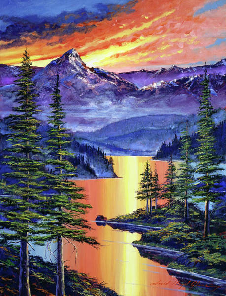 Painting - My Fondest Memories  by David Lloyd Glover