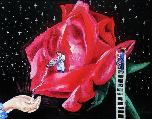Painting - My Fragrant Offering by Jennifer Page