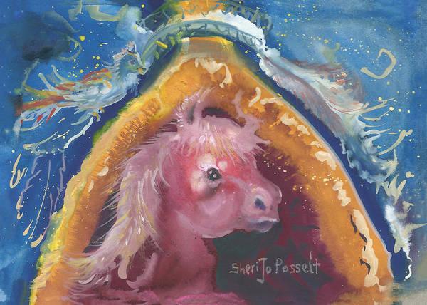 Painting - My Friend by Sheri Jo Posselt