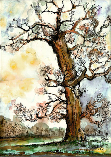 Painting - My Friend The Tree by Ginette Callaway