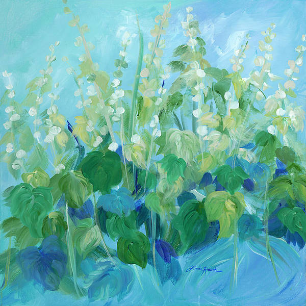 Painting - My Garden by Linda Rauch