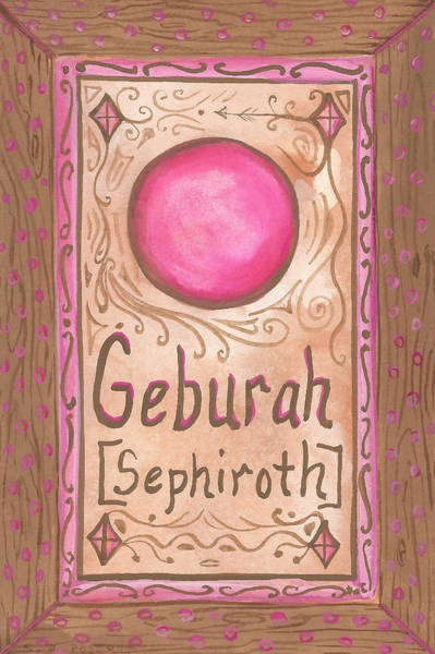 Painting - My Geburah by Sheri Jo Posselt