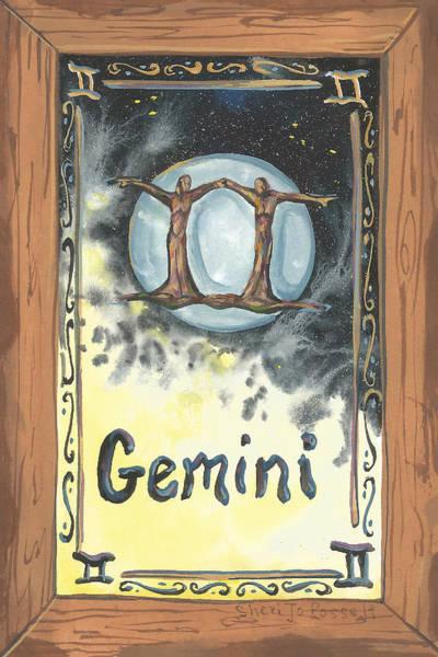 Painting - My Gemini by Sheri Jo Posselt