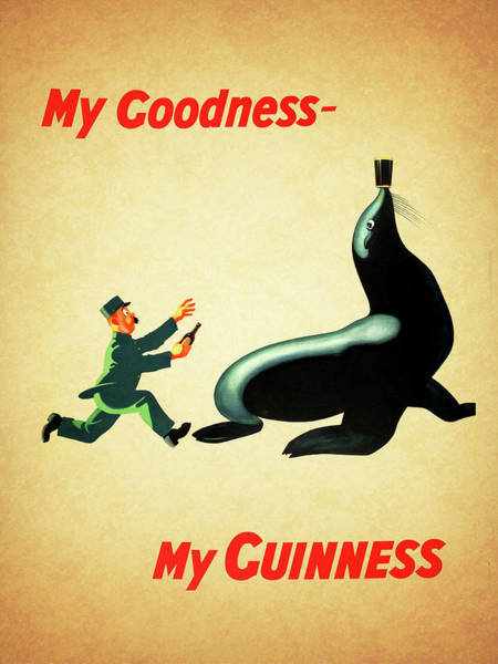 Herbs Photograph - My Goodness My Guinness 1 by Mark Rogan