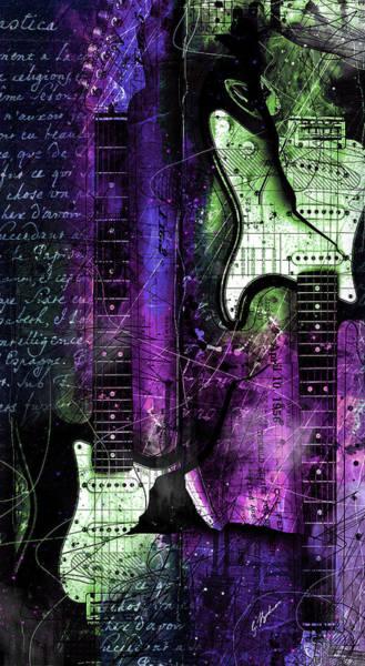 Wall Art - Digital Art - My Guitar Gently Weeps by Gary Bodnar