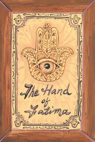 Painting - My Hand Of Fatima by Sheri Jo Posselt