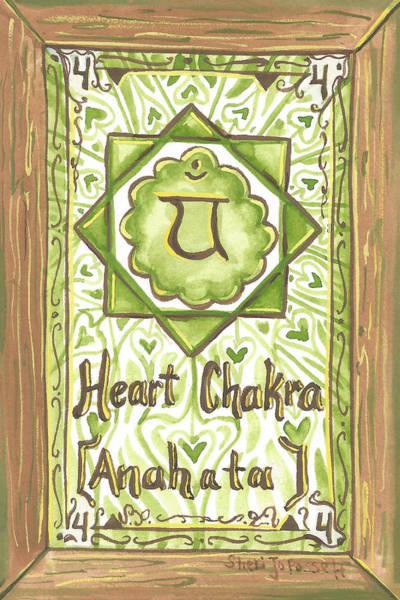 Painting - My Heart Chakra by Sheri Jo Posselt