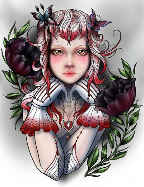 Digital Art - My Heart by Curiobella- Sweet Jenny Lee