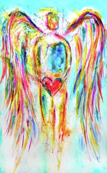 Wall Art - Painting - My Heart by Ivan Guaderrama