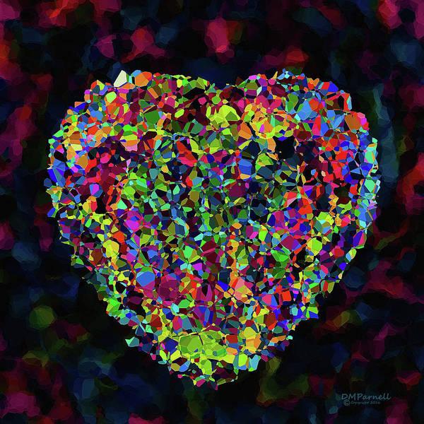 Heartbroken Digital Art - My Heart Of Glass Broken by Diane Parnell