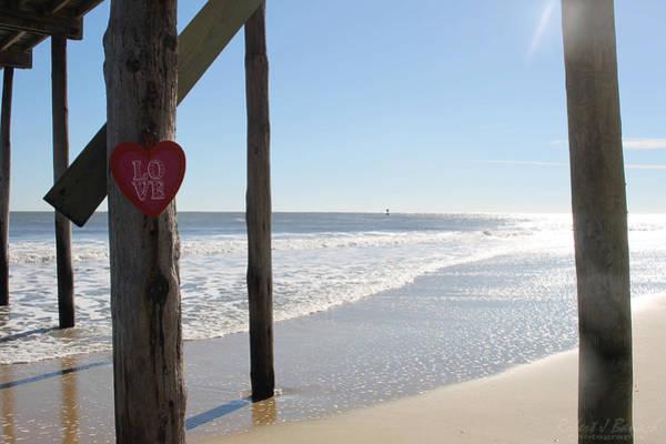 Photograph - My Heart Under The Pier by Robert Banach