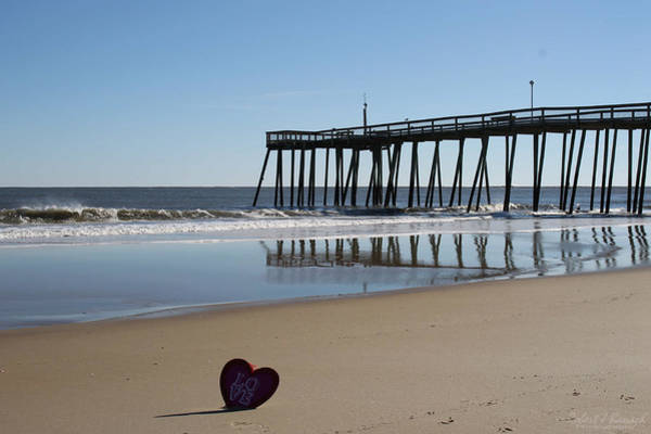 Photograph - My Heart's On The Beach by Robert Banach