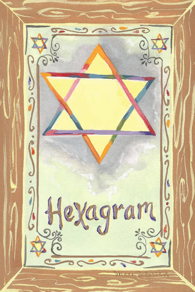 Painting - My Hexogram by Sheri Jo Posselt
