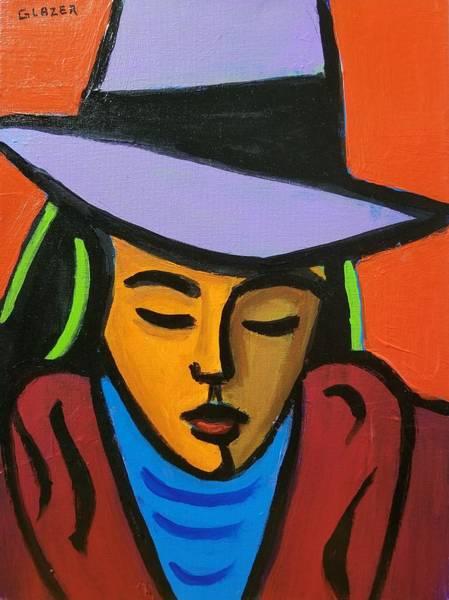 Wall Art - Painting - My High Silk Hat by Stuart Glazer