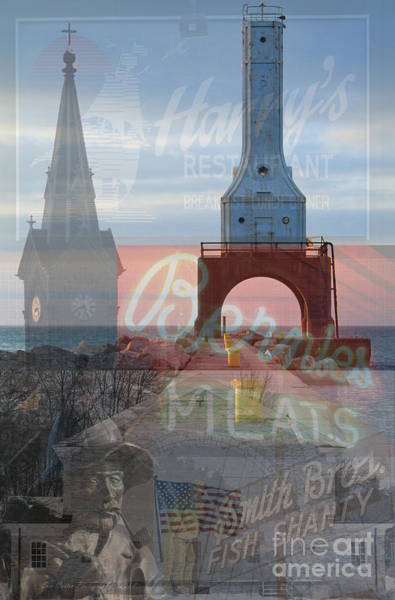 Multiple Exposure Digital Art - My Home Port  by Eric Curtin