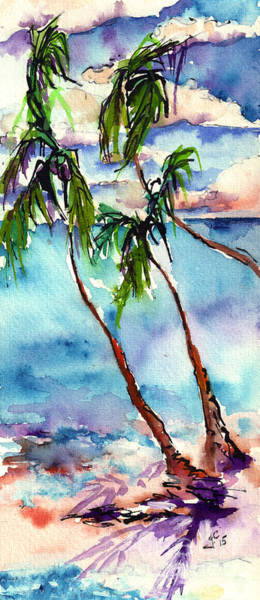 Painting - My Island In The Sun by Ginette Callaway