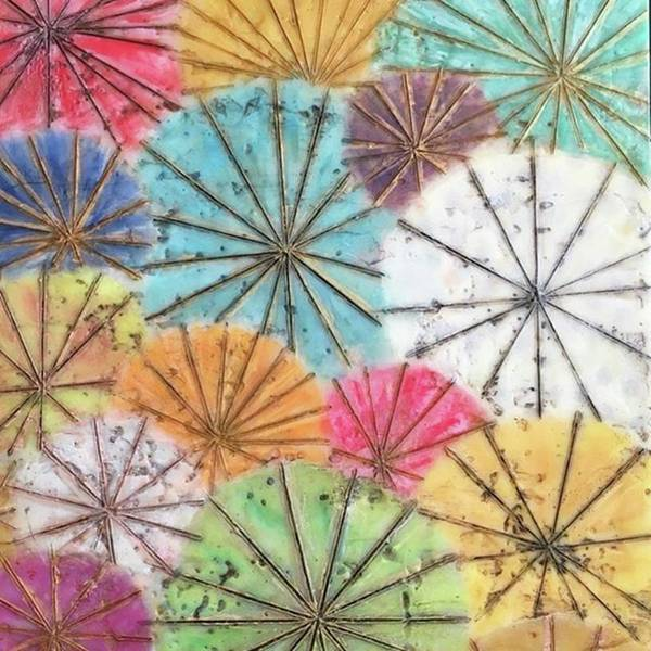 Contemporary Wall Art - Photograph - Japanese Umbrellas by Christine Chin-Fook