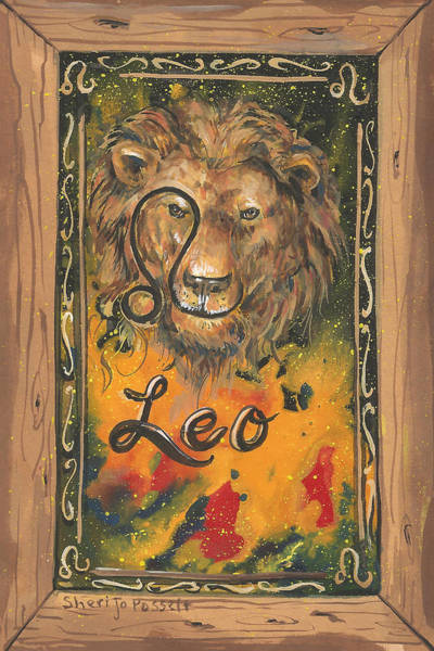 Painting - My Leo  by Sheri Jo Posselt