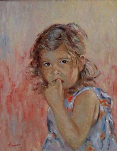 Painting - My Little Baby  by Pierre Van Dijk