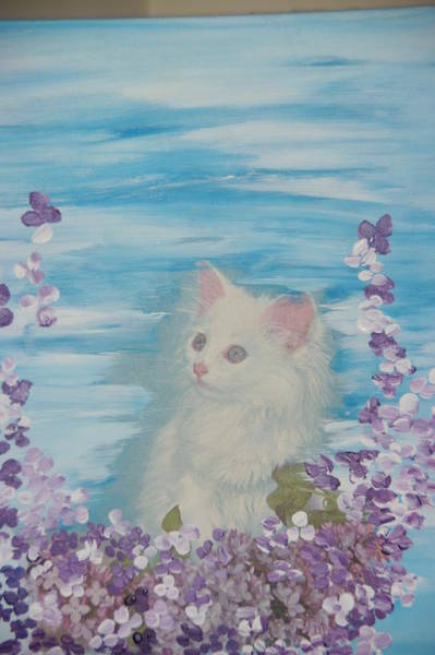 My Little Cat Art Print