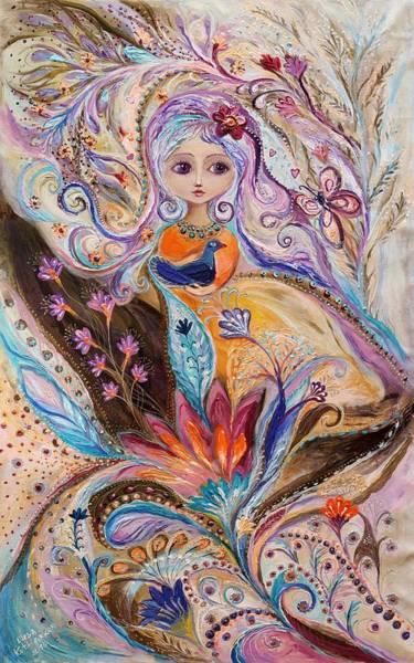 Wall Art - Painting - My Little Fairy Olivia by Elena Kotliarker