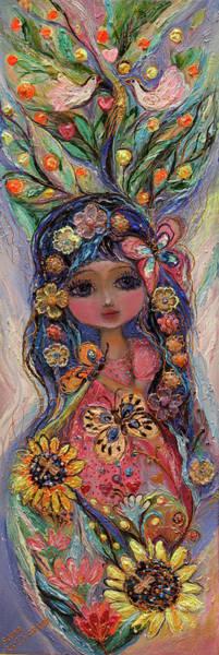 Wall Art - Painting - My Little Fairy Penelope by Elena Kotliarker