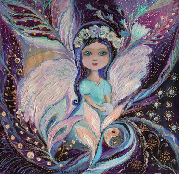 Wall Art - Painting - My Little Fairy Yin by Elena Kotliarker
