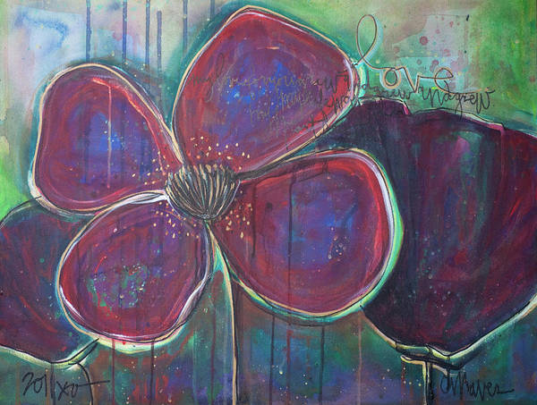 Painting - My Love For You Grew And Grew by Laurie Maves ART