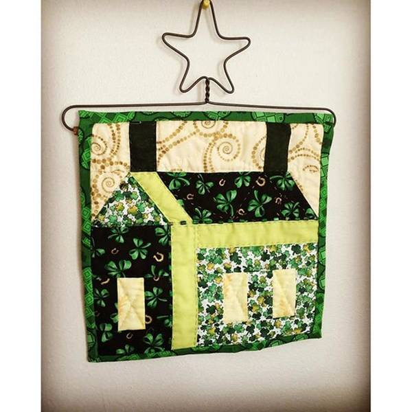 Photograph - My Lucky House March Wall Hanging by Melissa Abbott