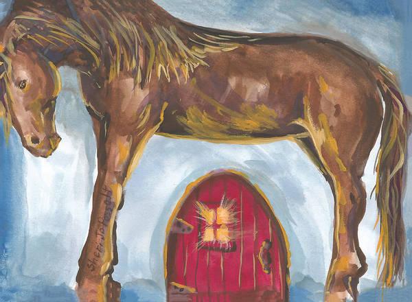 Painting - My Mane House by Sheri Jo Posselt