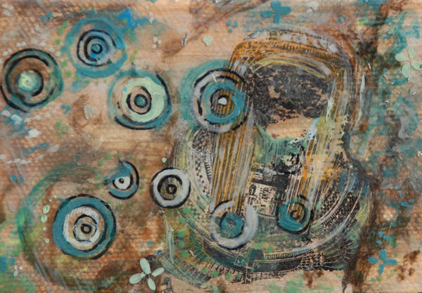 Transfer Mixed Media - My Mummy by Jennifer Kelly