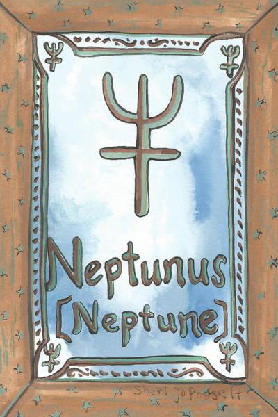 Painting - My Neptunus by Sheri Jo Posselt