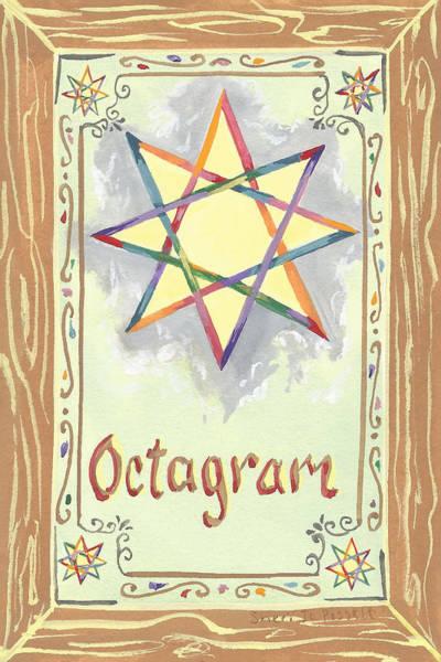 Painting - My Octagram by Sheri Jo Posselt
