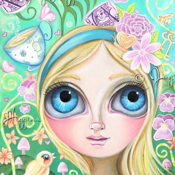 Cute Wall Art - Photograph - My Original alice In Pastel Land by Jaz Higgins
