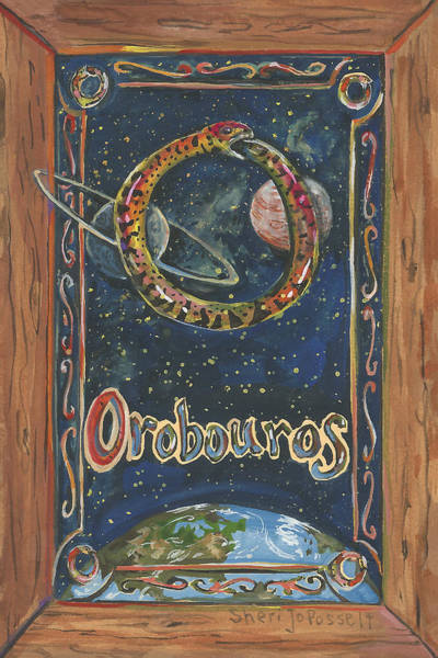 Painting - My Orobouros by Sheri Jo Posselt