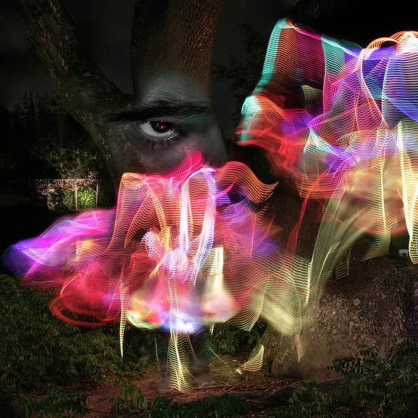 Multiple Exposure Digital Art - My Own Fault by Jonathon Ahhee