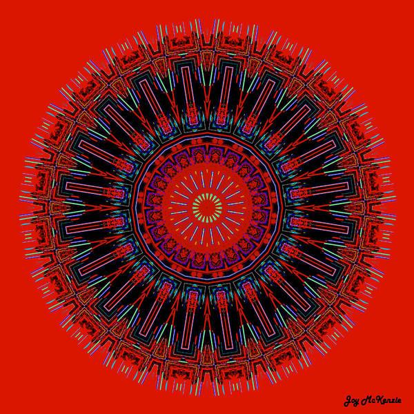 Psychedelia Digital Art - My Pain Mandala by Joy McKenzie